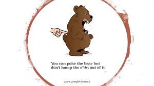 Bear poke