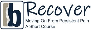 RECOVER course logo with subheading